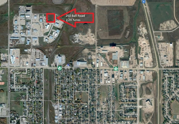 2.29 acres 263 Ball Road Yorkton, Saskatchewan