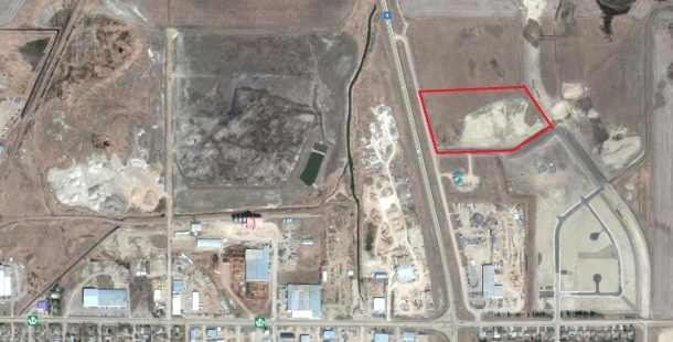 11.12 acre commercial development site on Highway #9 N, Yorkton SK